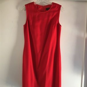 Limited Red Sheath Dress